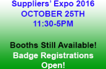 Suppliers&#8217; Expo 2016 <br/>Registration and Information