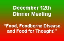 December 12<br/>Dinner Meeting<br/>Register Now!