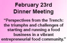 February 23<br/>Dinner Meeting<br/>Register Now!