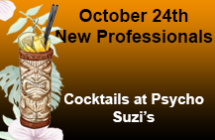 October 2016 New Professionals<br/>Registration and Information