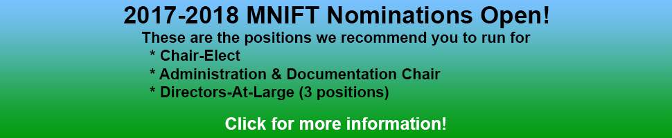 MNIFT Call for Nominations 2017-2018
